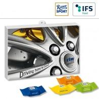 Calendrier de l'Avent publicitaire premium cadeau avec cube de chocolat ritter sport