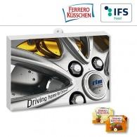 Calendrier de l'avent Premium cadeau avec Ferrero Küsschen