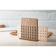 Calendrier perpétuel personnalisable en bois