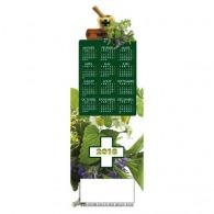 Estampe murale plantes médicinales