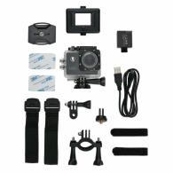 Caméra personnalisable sport HD avec 11 accessoires