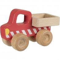 Camion benne en bois 14cm