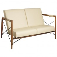 Canapé publicitaire Alice en bois de suar massif