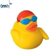 Canard publicitaire sportif nageur