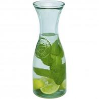 Carafe 80cl en verre recyclé