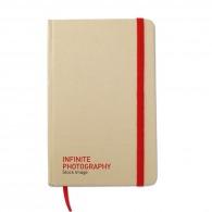 Petit carnet personnalisable a6 couverture kraft
