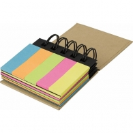 Carnet à spirale personnalisable contenant 250 papiers repositionnables