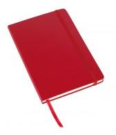 Carnet personnalisable a5 à couverture rigide, élastique ton sur ton