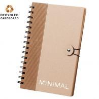 Carnet personnalisable A5 en carton recyclé