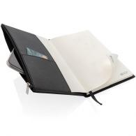 a5 premium notebook con bolsillo con cremallera