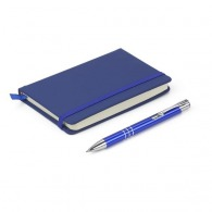 Carnet A6 et stylo à couverture rigide