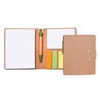 Carnet de notes adhésives avec stylo