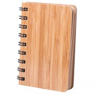 Carnet personnalisable de notes bambou