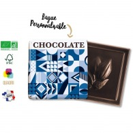 Carré de chocolat premium