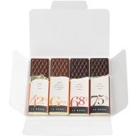 Carte chocolat 4 barres premium