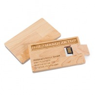 Carte usb en bois - Crillon