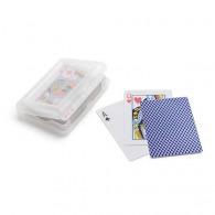 Cartes à jouer personnalisées sous étui plastique