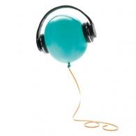 Casque audio publicitaire et haut-parleur 2 en 1