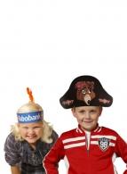 Chapeaux en carton avec logo