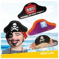 Casquette de pirate en carton
