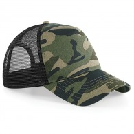 Casquette filet camouflage