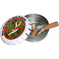 Pocket ashtray clic clac 45mm