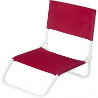 Chaise de camping personnalisable pliable en PVC
