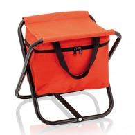 Chaise publicitaire de plage avec glacière