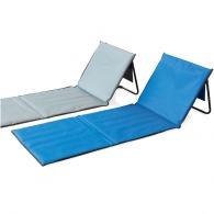 Chaise longue publicitaire de plage pliable