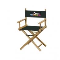 Chaises réalisateur et fauteuils metteur en scène avec logo