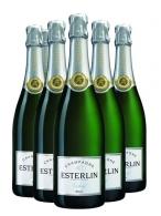 Champagne avec marquage