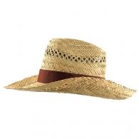 Chapeau de paille avec logo