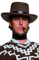 Chapeau personnalisable justicier western luxe