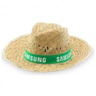 Chapeau de paille personnalisé avec bandeau