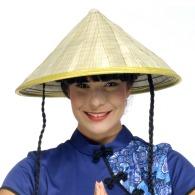 Chapeau logoté oriental traditionnel