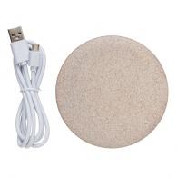 Chargeur à induction 5w en fibre de paille