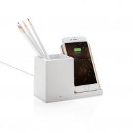 Chargeur à induction avec porte-crayons