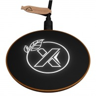 Chargeur sans fil 10w en bois - express 48h