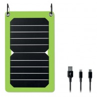 Chargeurs solaires avec marquage