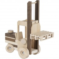 Chariot élévateur en bois 35cm