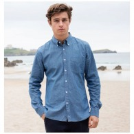 Chemise chambray Front Row