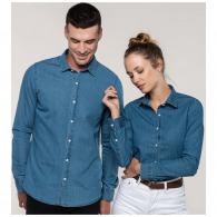 Chemises en jean publicitaire