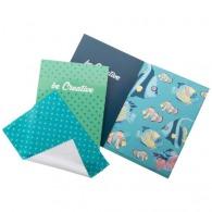 Chiffonnette avec carte postale