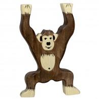 Chimpanzé en bois 12cm