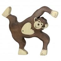 Chimpanzé jouant 12cm