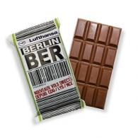 Tablettes de chocolat personnalisé