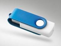 Clé usb avec bouchon rotatif et clé Twister publicitaire