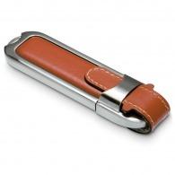 Clé usb personnalisable en cuir et métal - tennerolles