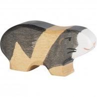 Cochon logoté d'inde en bois 6cm