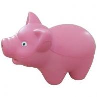 Cochon avec logo